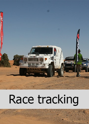 race tracking